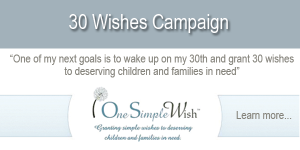 one-simple-wish-30-for-30