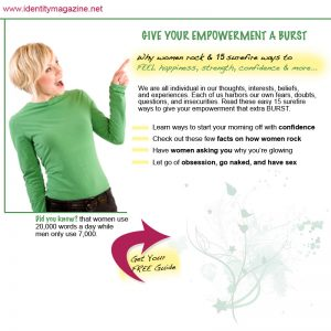 Give Your Empowerment a BURST!