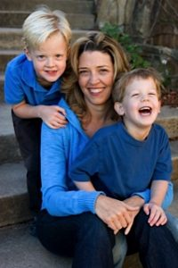 Jennifer and sons