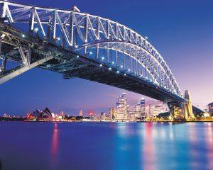 Sydney-Harbour-Bridge-at-Night-Australia-11