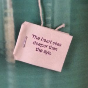 The Heart sees Deeper than the Eye