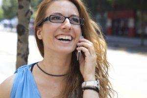 """""""Young Business Woman With Smart Phone"""" by patrisyu"""