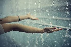 Embrace the rain; for not even the most powerful storm can prevent fate.