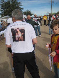 My Dad's race shirt!