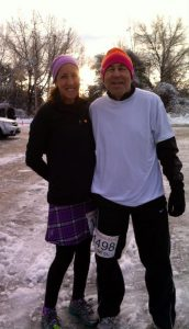Our New Thanksgiving Tradition - a 5K in the cold