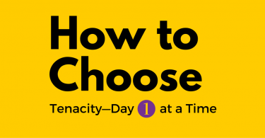 How to choose tenacity: Jennie Mustafa-Julock