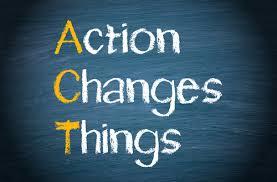 Action heals.