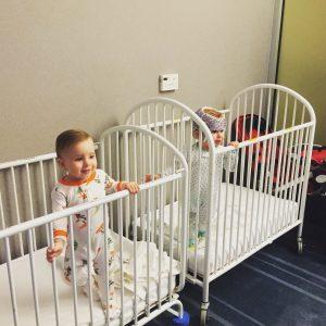 Aloft Hotel Cribs
