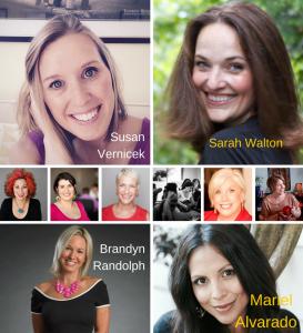 Susan Vernicek, Carolyn Herfurth, Sarah Walton, M. Shannon Hernandez, Nancy Witter, Brandyn Randolph, Mariel Alvarado, Jennifer Zwiebel, Andrea Goulet