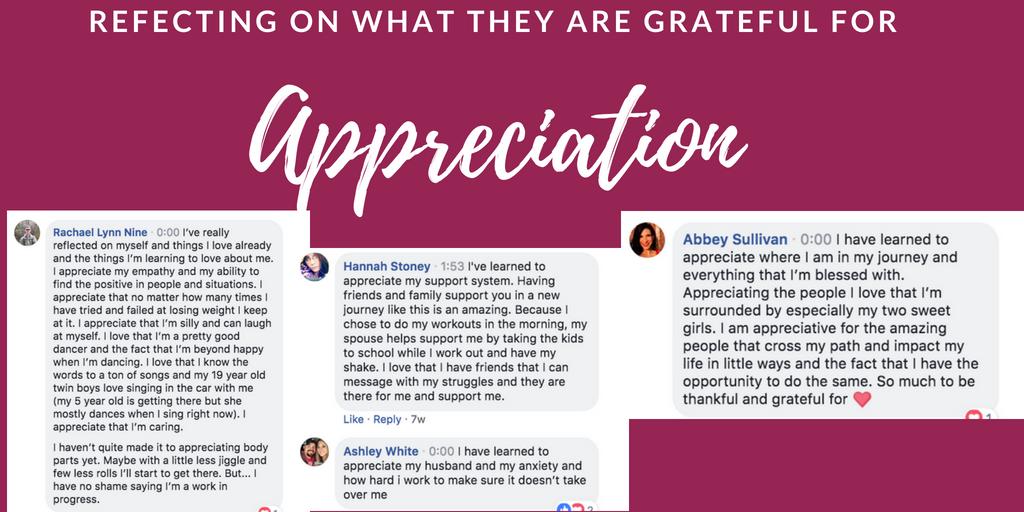 Embracing Appreciation